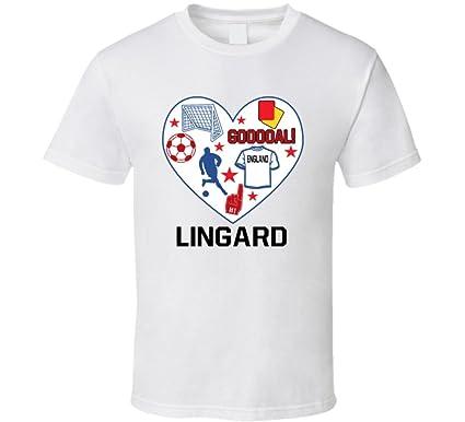 reputable site 505ec 31e7f Amazon.com: Jesse Lingard Heart Mashup England World Cup ...