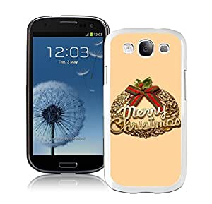S3 Case,Christmas Olive Branch White Silicone Samsung Galaxy S3 Case,S3 I9300 Cover Case