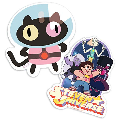 Popfunk Steven Universe Cookie Cat and Cast Collectible Stickers
