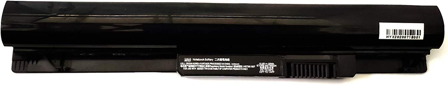Binger New MR03 Replacement Laptop Battery Compatible With HP Pavilion 10 TouchSmart 740722-001 740005-121 HSTNN-IB5T(10.8V 2422mAh 28Wh )