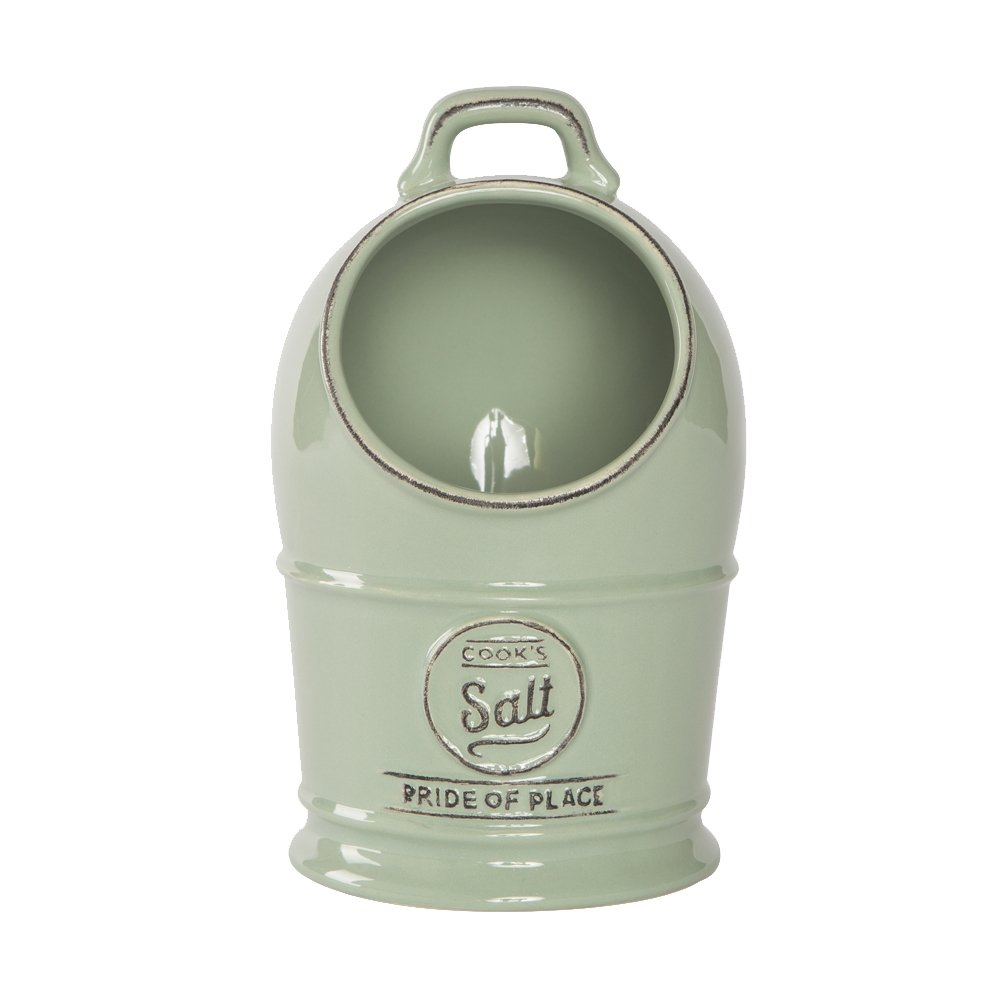 T /& G Pride of Place Salt Jar//Cellar Old Green 18010 by T/&G Woodware