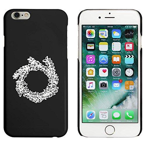 Noir 'Couronne' étui / housse pour iPhone 6 & 6s (MC00083680)