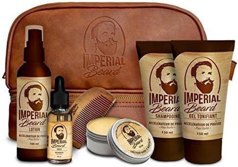 Imperial Beard - Estuche con productos para acelerar el crecimiento de la barba: Amazon.es: Salud y cuidado personal