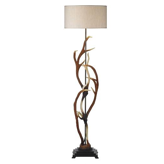 Antler standard floor lamp amazon lighting antler standard floor lamp mozeypictures Images