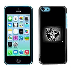 LOVE FOR iPhone 5Cs Raider NFL Personalized Design Custom DIY Case Cover