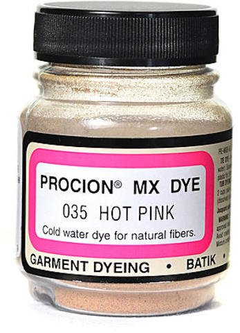 Jacquard Procion MX Fiber Reactive Dye (Hot Pink)