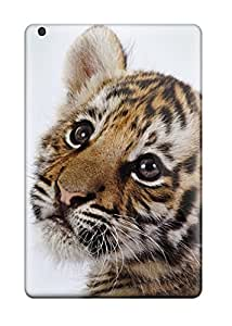New Snap-on Skin Case Cover Compatible With Ipad Mini- Cute Tiger Cub 7733412I62914795