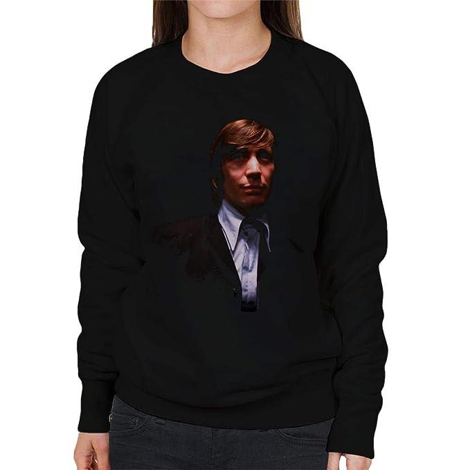 TV Times Charlie Watts Rolling Stones Womens Sweatshirt