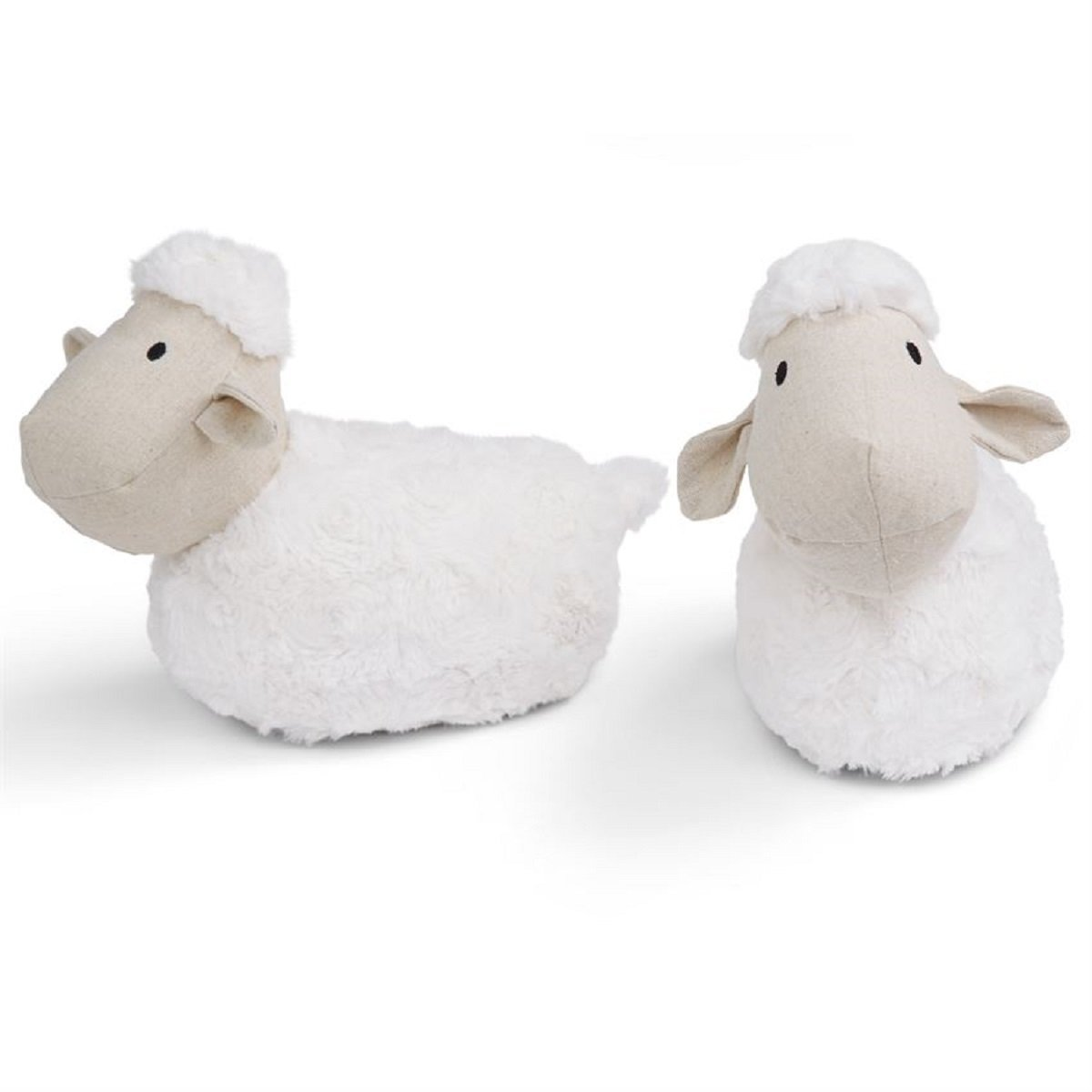 Mud Pie Baby Nursery Decor 2 Piece Weighted Lamb Bookends