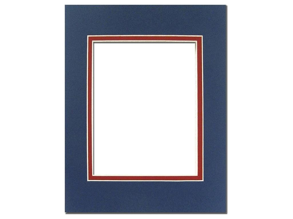 PA Framing 5 x 7 Inches Frame for 3.5 x 5 Inches Photo Art Size Cream Core//Ivory Upper and Inner Mat Double Mat