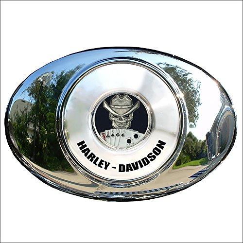 (MotorDog69 Dead Man's Hand Harley Air Cleaner Coin Mount Set…)
