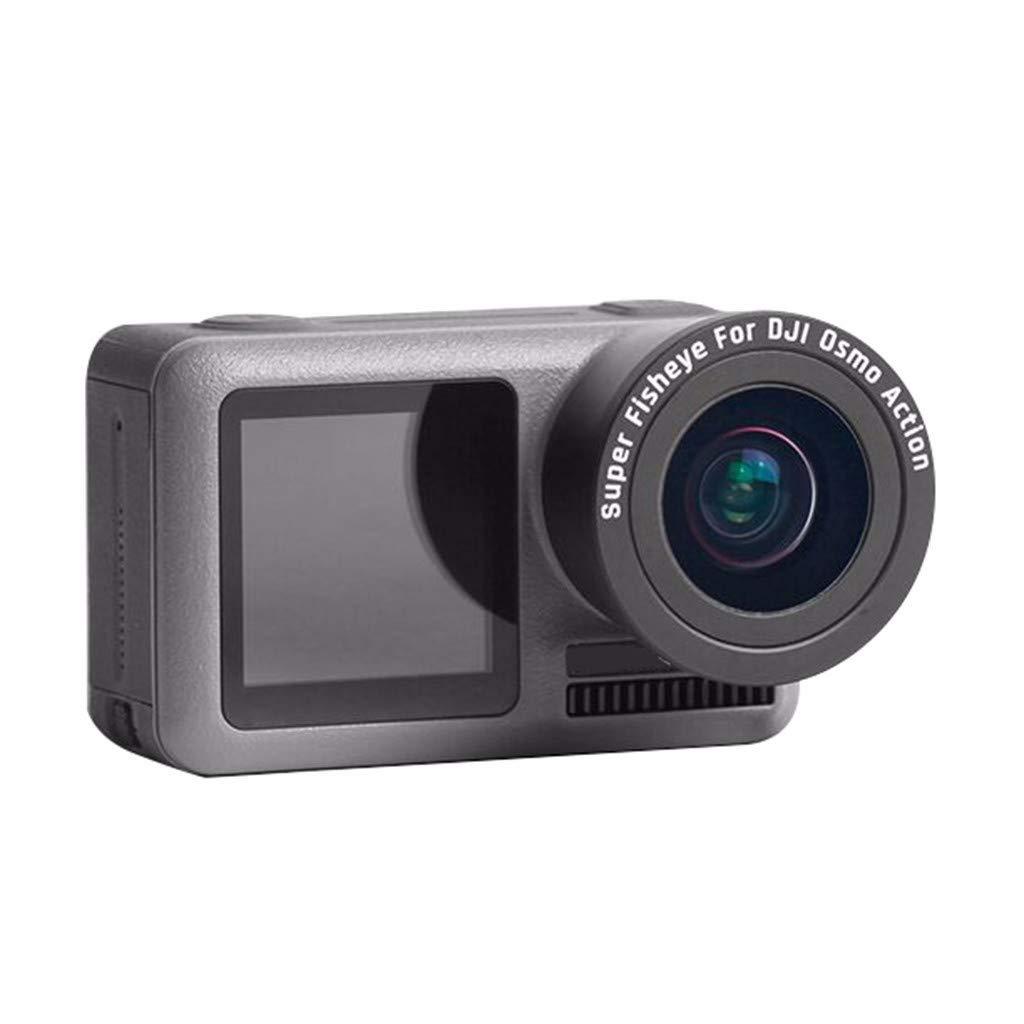 for DJI OSMO Action Camera, Macro Lens&Fisheye Lens - Macro HD Anti-Shake Portable Sports Camera Accessories