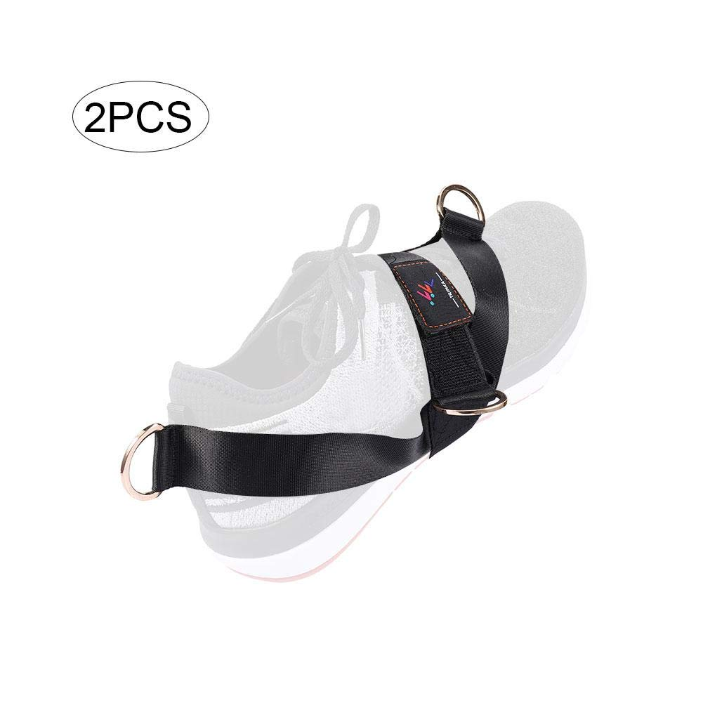 Todaytop Ankle Straps for Cable Machine Glute Kickbacks Strap for Workout Trainer Fitness Ankle Cuffs for Home Gym-2PCS