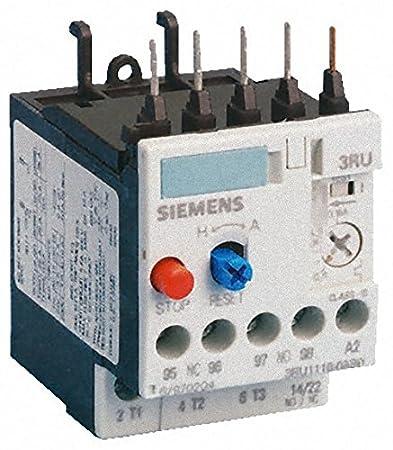6a6aa3f045f Siemens - Rele sobrecarga termico 3ru11 s00 1