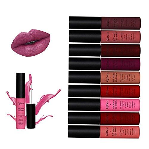 ROPALIA Matte Lipstick Set KINUT Long Lasting 24 Hour Waterproof Liquid Lip Gloss ...