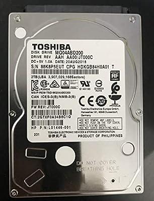"""Toshiba 2.5"""" inch Laptop Notebook Hard Drive Disk HDD MQ04ABD200 2TB 2000GB 9.5mm 5400RPM from ï¼ï¼³"""