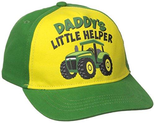 John Deere Toddler Boys' Daddys Helper Baseball Cap, Gree...