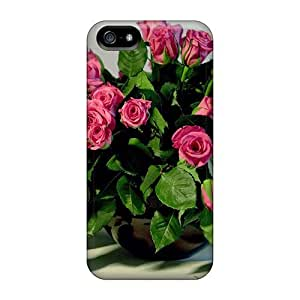 Perfect Fit MpHFjdb5606BLgBD Bouquet Of Fresh Roses Case For Iphone - 5/5s