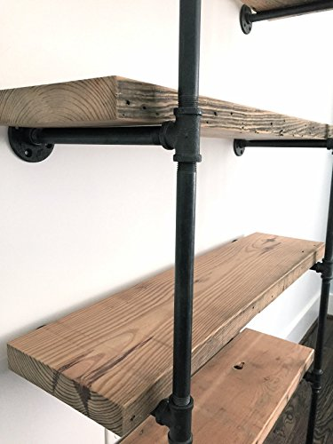 Amazoncom Bentley Reclaimed Wood Bookshelf Handmade