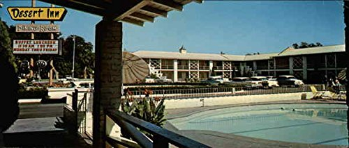 Desert Inn Downtown Motor Hotel, 918 Central Ave. S. W Albuquerque, New Mexico Original Vintage - Inn Hotel Downtown