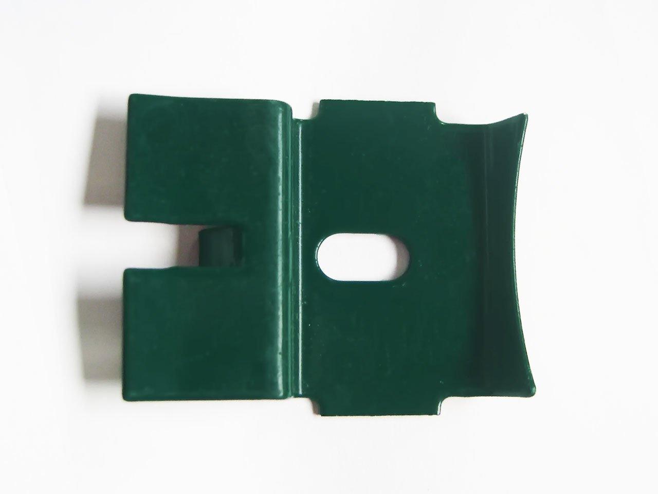 LIPPI - Clips pour Fixation des Panneaux AQUILON - Sachets de 24 unité s coloris Vert 6005