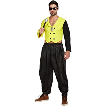 Mens 80s 90s Rap King Rapper DJ MC Hammer Fancy Dress Costume M/L  sc 1 st  Amazon UK & Mens 80s 90s Rap King Rapper DJ MC Hammer Fancy Dress Costume M/L ...