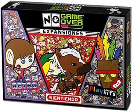 No Game Over- Juego de Mesa 3 Pack Expansiones, Multicolor (0710535488104)