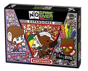No Game Over- Juego de Mesa 3 Pack Expansiones, (0710535488104)