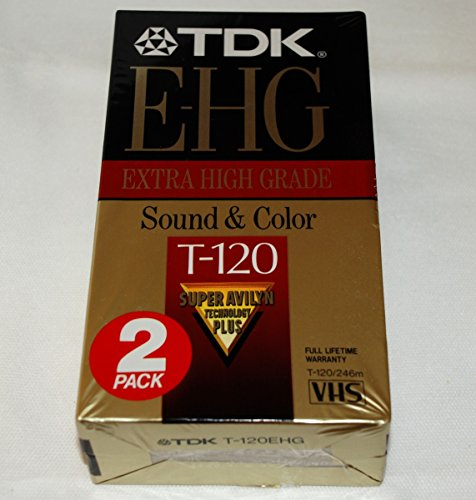 TDK Extra High Grade T-120 (2 Pack)