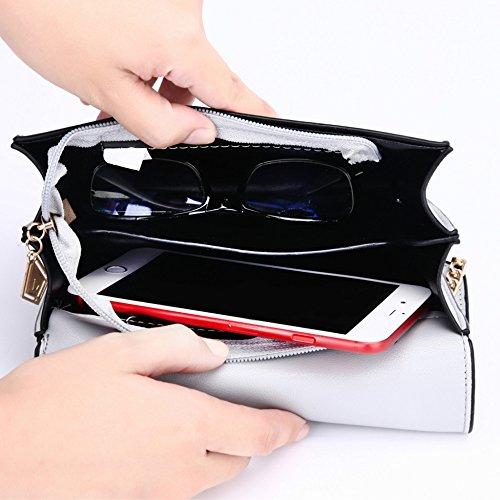 Borse Per Ragazze Mini Nere Citazioni Quadrati Di Casual Catene Spalla Shopping Anelli Donna Moda Le Bag U8qFqwdx