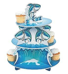 Fun Express Shark Cupcake Stand