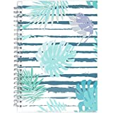 """2019 Planner - 2019 Academic Weekly & Monthly Planner + Tabs + 21 Notes Pages, Twin-Wire Binding with Flexible Pocket Cover, Thick Paper Resists Ink Bleed, 5"""" x 8"""" - Artfan"""