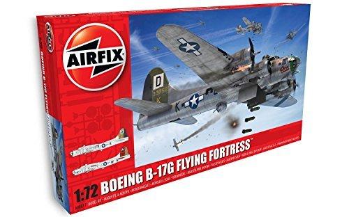 Airfix 1/72 American Boeing B-17G Flying Fortress plastic model X8017