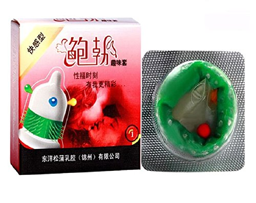 G-Spot Spiked Extra Pleasure Male Condom - 1pcs