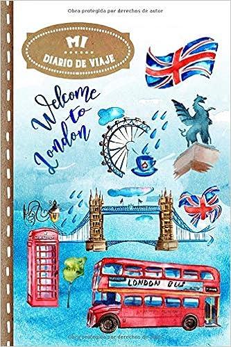 Diario de Viaje: Londres Libro de Registro de Viajes Guiado ...