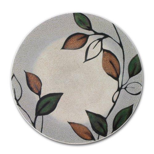 Pfaltzgraff Stoneware Trivet - Pfaltzgraff Rustic Leaves Trivet, 6-Inch