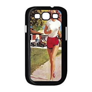 Classic Sexy Pin up girl Poster Hard Plastic phone Case Cover For Samsung Galaxy S3 ZDI125391