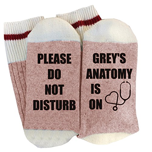 Women's Fun Socks Winter Funny Novelty Cute Cotton Crew Hosiery with Saying for $<!--$5.88-->