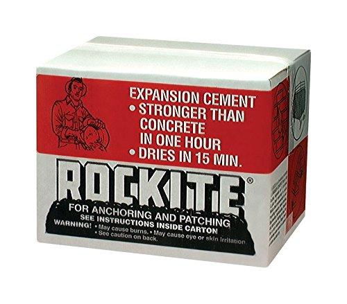 Cement Fast Rockite Setting (Rockite 10025 25 Lb Rockite Fast-Setting Cement)