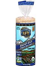 Lundberg Farms 35354 Organic Brown Rice Cake Salt