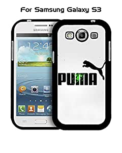 Puma Galaxy S3 Funda Case, Brand Logo Snap On Slim Ultra Thin High Impact Protector Solid Fit for Samsung Galaxy S3 i9300