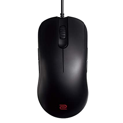 df2ab5ce4b8 BenQ ZOWIE FK1 Wired Ambidextrous Gaming Mouse for Esports, Black, Large