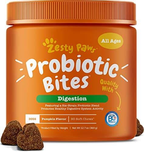 Dog Medication & Health Supplies: Zesty Paws Probiotic Bites