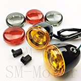 Gloss Black orange red harley davidson Turn Signal Light sportster XL883 XL1200 turn signals Sportster 92-up