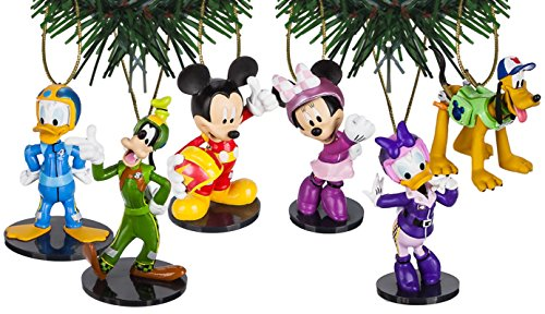 Disney Junior's Mickey and the Roadster Racers Ornament Set of -