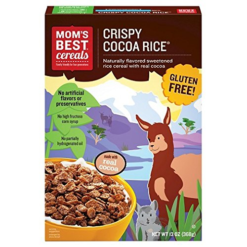Mom's Best Cereals Crispy Cocoa Rice Cereal 13 oz (Pack of 3)