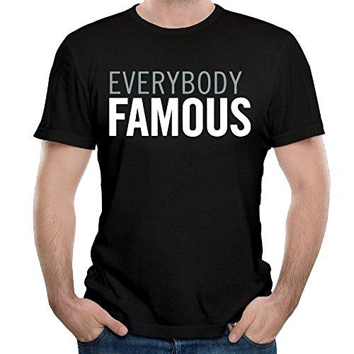Stylish Everybody Famous Men's T Shirt Short Sleeve T Shirt