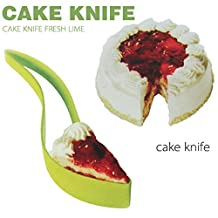 Delmkin 2015 New One-piece Cut Cake Knife Cutting Clip Cake Pie Slicer Knife Pizza Clips Birthdays, Weddings, Holidays, Kitchen