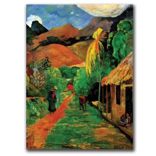 trademark-fine-art-rue-de-tahiti-by-paul-gaughin-canvas-wall-art-14x19-inch
