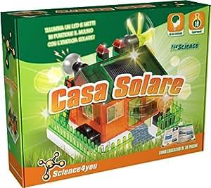 Science4you - Casa Solar, Kit científico de energía renovable (391048)